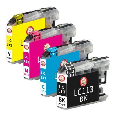 LC113-4PK brother [ブラザー] 互換インク 4色セット