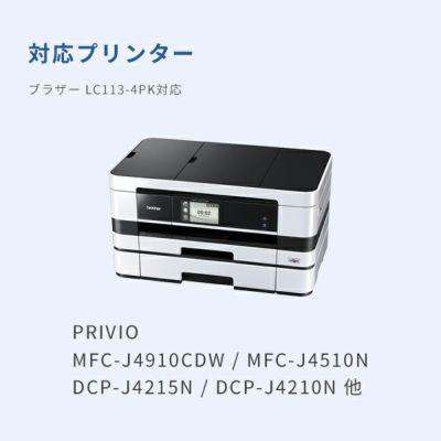 対応プリンターは、PRIVIO NEO MFC-J4910CDW、PRIVIO NEO MFC-J4510N、PRIVIO WORKS MFC-J6975CDWです。