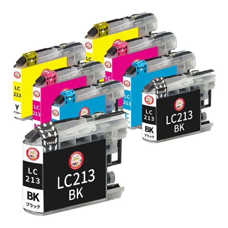 LC213-4PK brother [ブラザー] 互換インク 4色×2セット