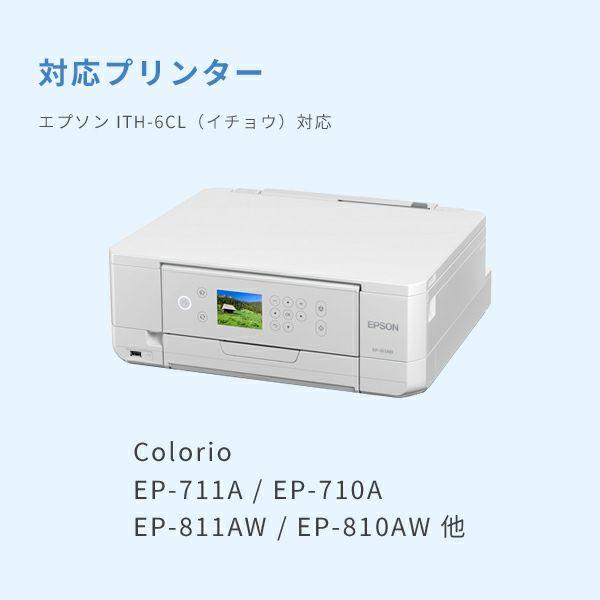対応プリンターは、Colorio EP-811AB/W、Colorio EP-810AB/W、Colorio EP-711Aです。
