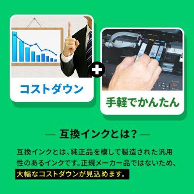 互換インクは純正品を模して製造された汎用性のあるインクです。