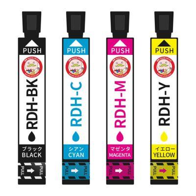 RDH-4CL (リコーダー) EPSON [エプソン] 互換インク 4色セット