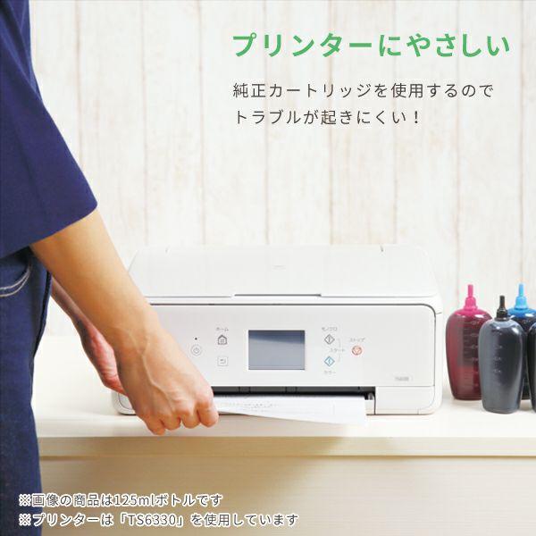 詰め替えインクは缶バッチ製品になっています。