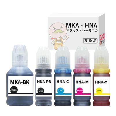 MKA+HNA-5CL (マラカス・ハーモニカ) EPSON [エプソン] 互換インクボトル 5色セット