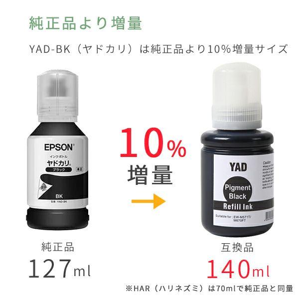 純正インクボトルと互換インクボトルの印刷コスト比較