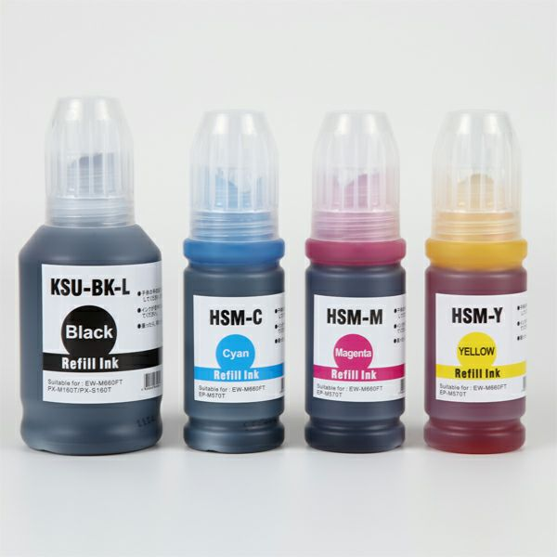 KSU+HSM-4CL (クツ・ハサミ) EPSON [エプソン] 互換インクボトル 4色セット