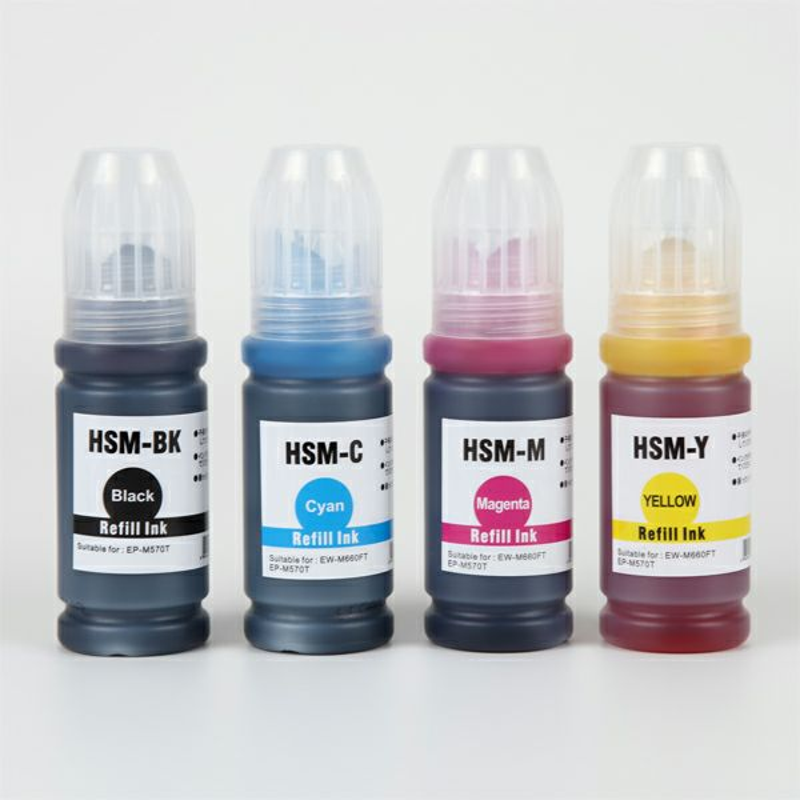 HSM-4CL (ハサミ) EPSON [エプソン] 互換インクボトル 4色セット