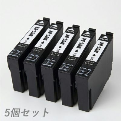 MUG-BK (マグカップ) EPSON [エプソン] 互換インク 染料ブラック5個セット